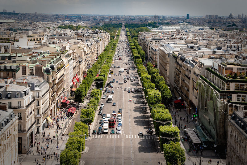 Paris Stadtrundfahrt